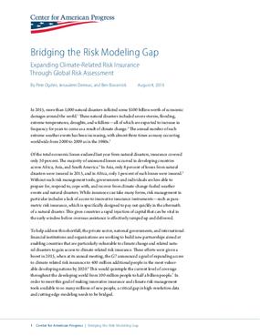Bridging the Risk Modeling Gap: Expanding Climate-Related Risk Insurance Through Global Risk Assessment