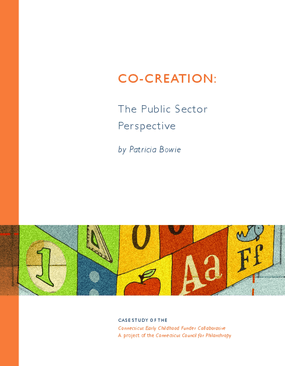 Co-Creation: The Public Sector Perspective